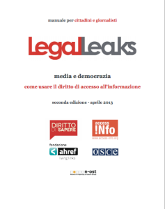 Legaleaks by @dirittodisapere