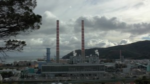 La centrale Tirreno Power di Vado Ligure
