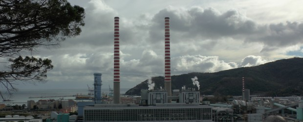La centrale Tirreno Power di Vado Ligure