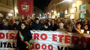La manifestazione a Casale Monferrato il 21 novembre 2014