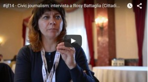 CIvic e Citizen Journalism a #Ijf14 l'intervista di Linfalab