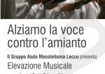 Alziamo la voce contro l'amianto:  concerto a Lecco in memoria di Angelo Manzoni