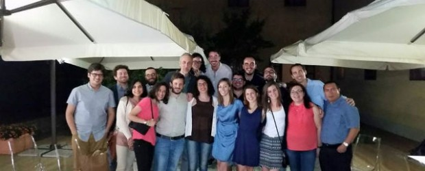 Gli allievi della V edizione del Master APC dell'Università di Pisa (al centro Federica Mazzei)