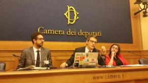 Ernesto Belisario, Guido Romeo di Foia4Italy e l'On. Anna Ascani