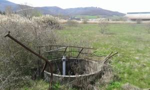 Stato di abbandono nelle vicinanze dell'area dell'ex Liquichimica