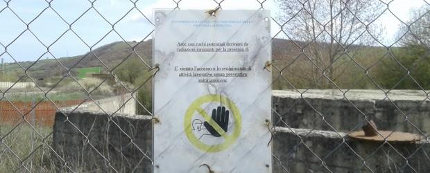 Avviso di pericolo per la presenza di radiazioni