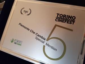 Turin Underground Cinefest menzione speciale Piemonte che cambia