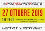 #iononfacciofintadiniente il 27 ottobre a Brescia per la marcia #BASTAVELENI