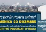 Ambiente e salute: #magliettebianche in piazza per chiedere le bonifiche dei siti inquinati il 22 dicembre