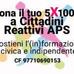 5x1000 cittadini reattivi